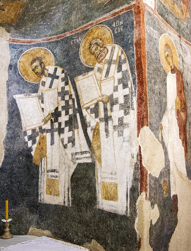 Стенописи в манастир Жича