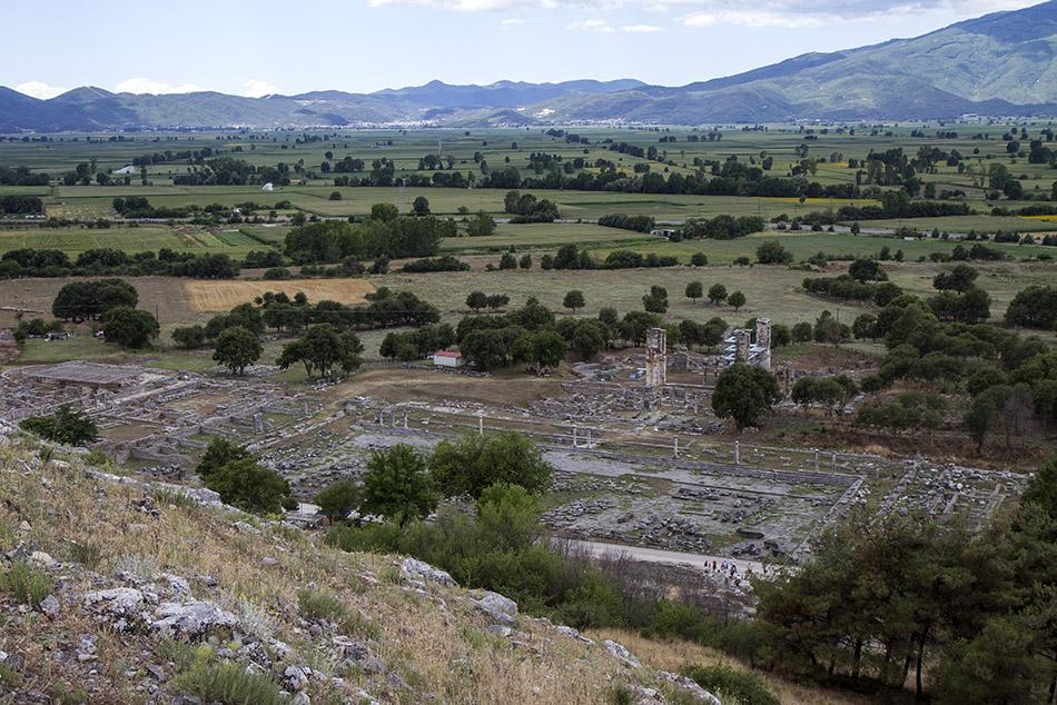 Руините на древния град Филипи