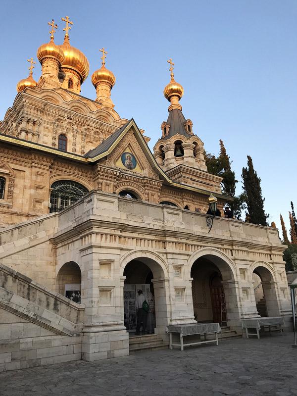 Гетсиманския манастир Св. мария Магдалина