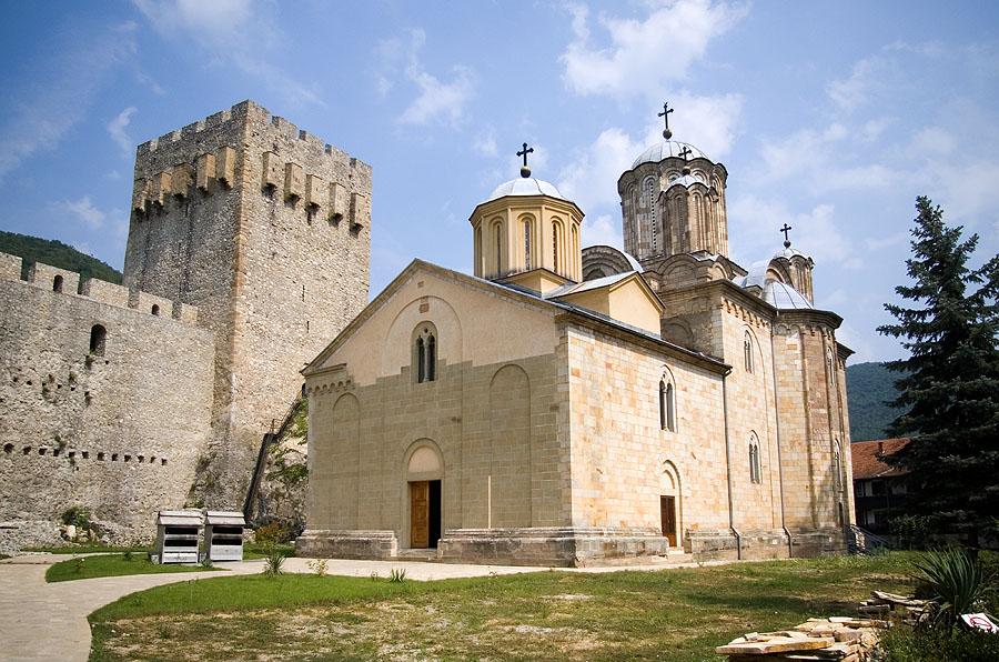 Църквата Света Троица на манастира Манасия (Манасија, Ресава)