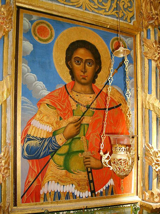 Икона на Св. Георги в Зографския монастир