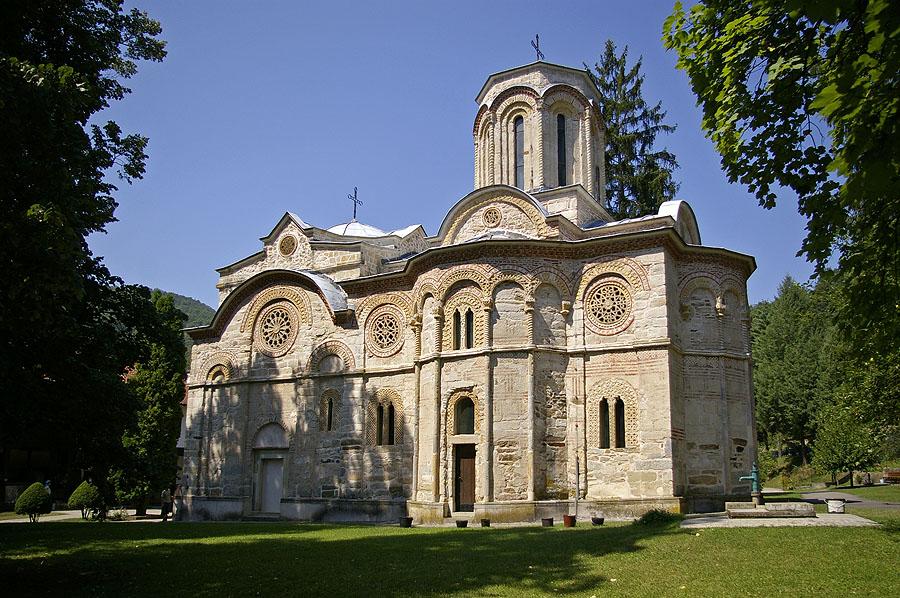 Църквата Успение Богородично в манастира Любостиня (Љубостиња)